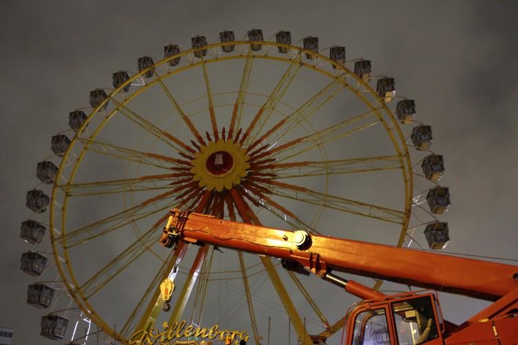 Pariserhjul Hamburger Dom